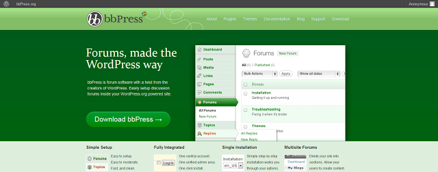 free forum software  php files